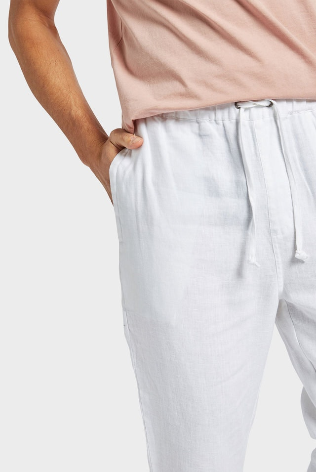 Product image for                                                     Linen Bermuda Pant