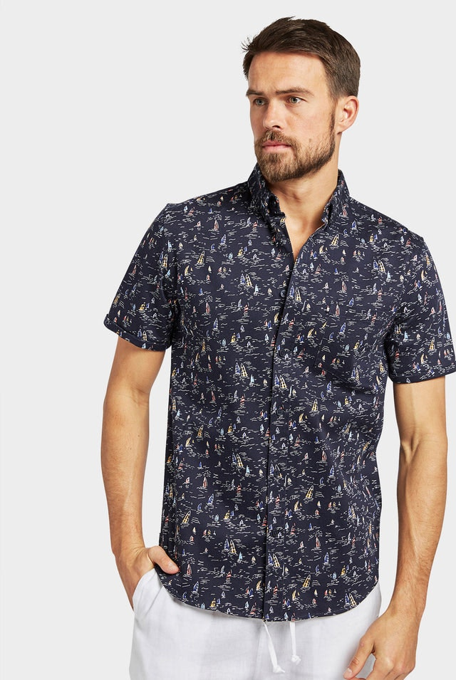 Product image for                                                     Eric S/S Shirt