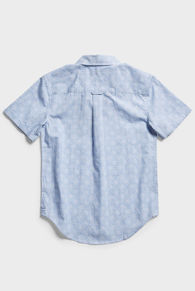 Product image for                                                     Boys Trevally S/S shirt