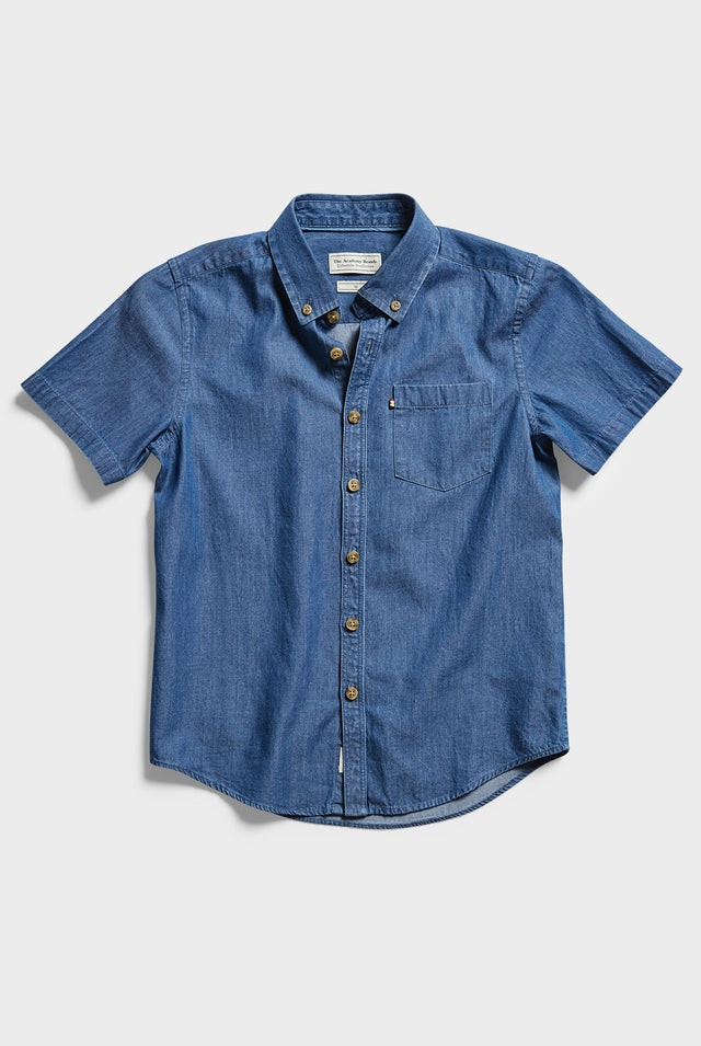 Product image for                                                     Boys Thomas S/S Shirt