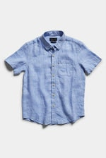Image Thumbnail for Boys Hampton Linen S/S Shirt