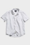 Product image for Boys Hampton Linen S/S Shirt