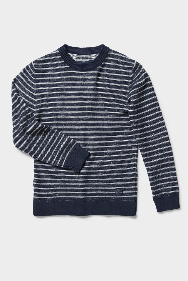 Product image for                                                     Newport Stripe Crew Knit