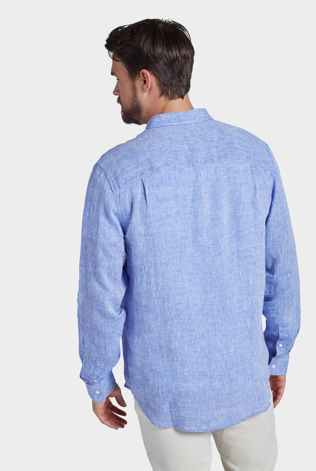 Product image for                                                     Newport Linen Shirt