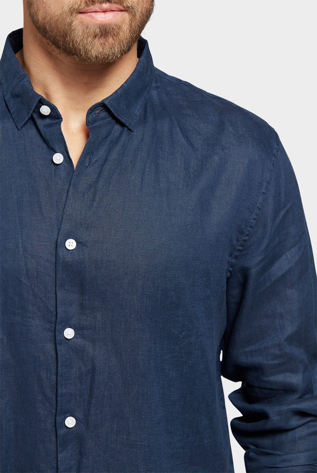Product image for                                                     Stamford Linen Shirt