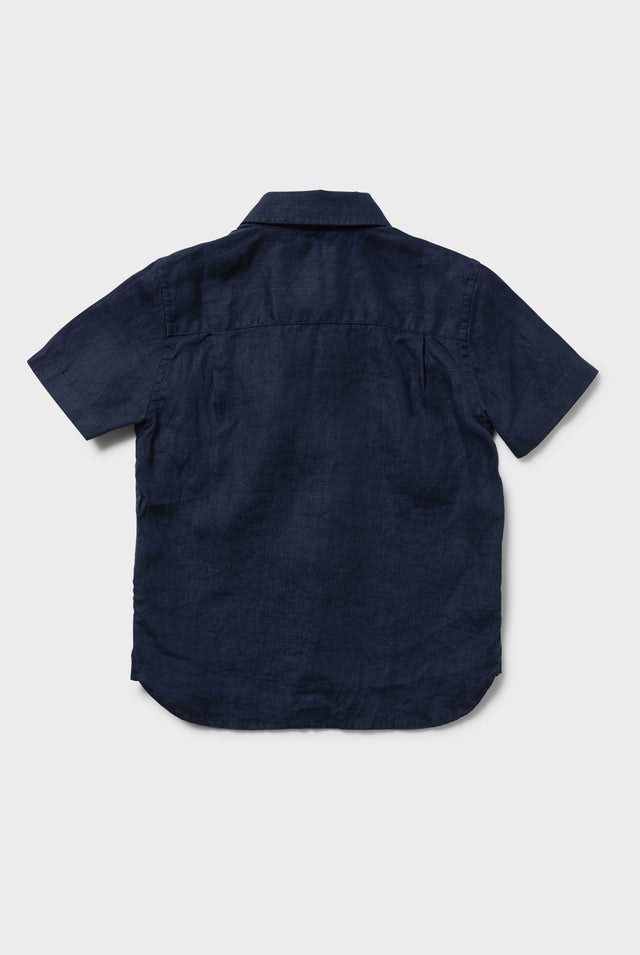 Product image for                                                     Newport SS Linen Shirt